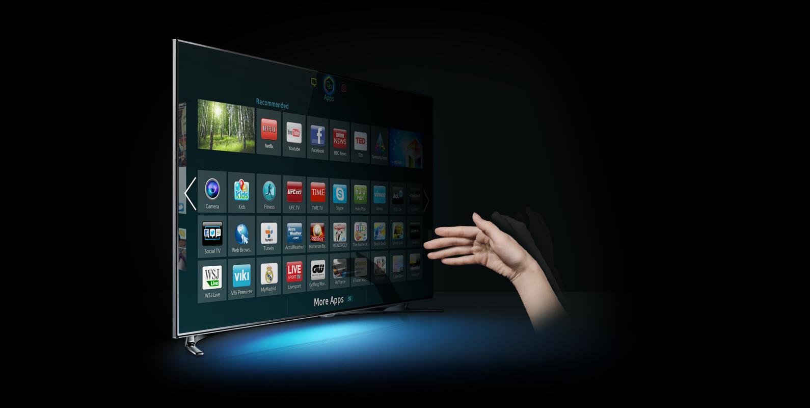 Hack a Samsung Smart TV via DVB-T